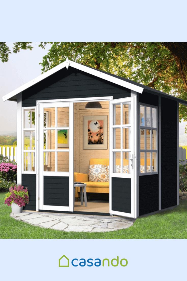 gartenhaus kleiner garten wohn design. Black Bedroom Furniture Sets. Home Design Ideas