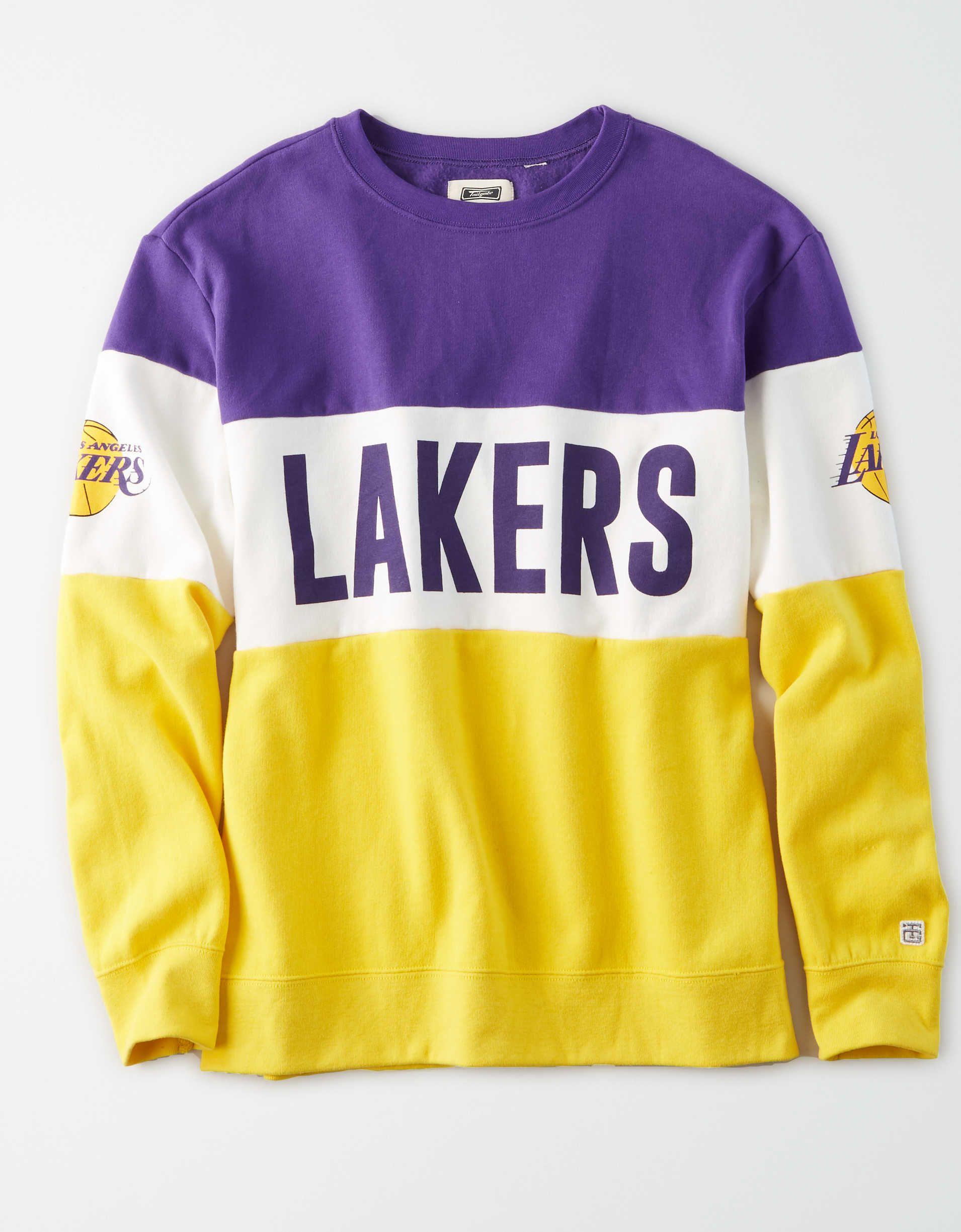 Tailgate Women's LA Lakers Colorblock Sweatshirt