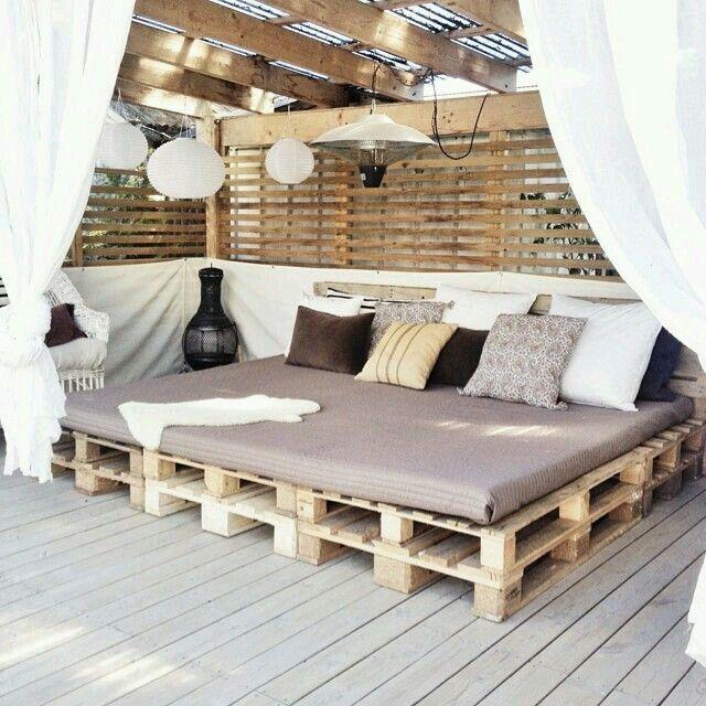 Garden Room Island Pallet Lounge, Pallet Pergola, Outdoor Pallet, Pallet  Pool, Pallet