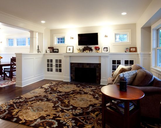 Traditional Family Room Fireplace Design Pictures Remodel Decor And Ideas Page 16 Traditional Family Rooms Family Room Family Room Design