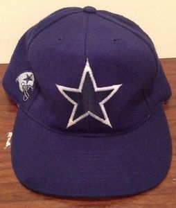 for purchase is a PREOWNED Vintage American Needle Dallas Cowboys Snapback.      Material: 100% Wool  Made in: Taiwan  By: American Needle  Condition: Great Condition. Minor flaws inside of hat. Looks like it has bled through some. Hat needs to be resized a little.  #Ebay #VintageClothing #DallasCowboys #DoItYourself #Kids #Summer #Spring