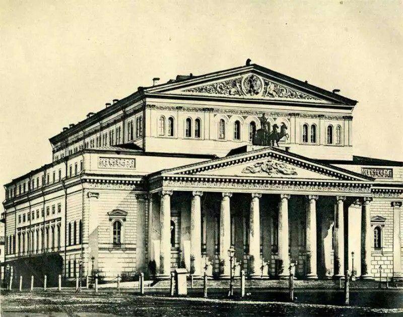 Большой театр конец 19 века (с изображениями) | Старые ...