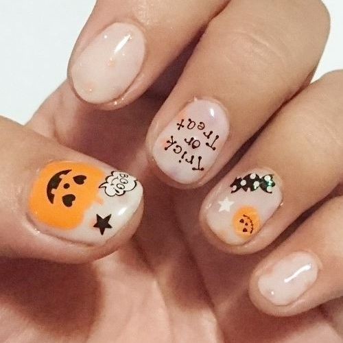 Best Halloween Nails - 31 Jaw-dropping Designs for 2017 Halloween - halloween design