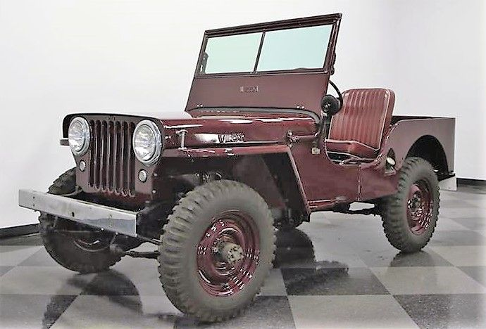 Pin By Luiz Andrade On 4x4 Jeep In 2020 Willys Jeep Willys Jeep