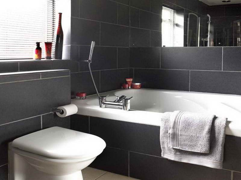 Remarkable 17 Best Images About Bathroom On Pinterest Grey Floor Tiles Inspirational Interior Design Netriciaus