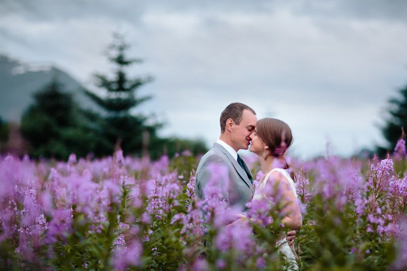 Destination Wedding In Alaska