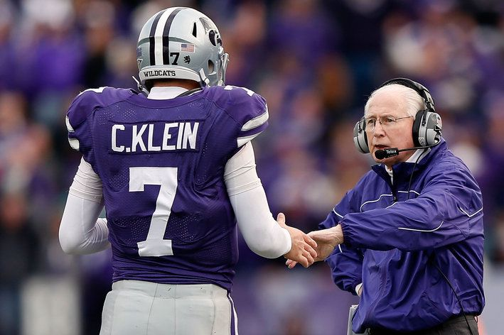 Coach Bill Snyder And Collin Klein The Greatest Coach In