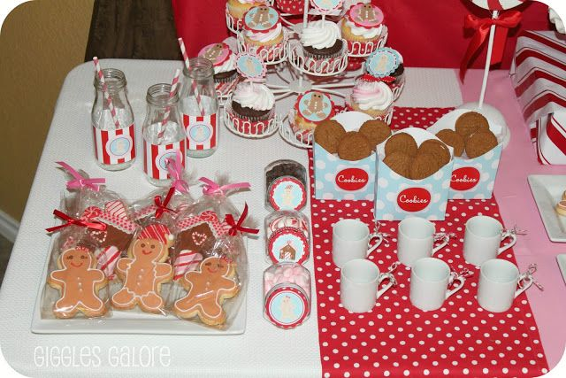 Gingerbread House Decorating Party - Giggles Galore