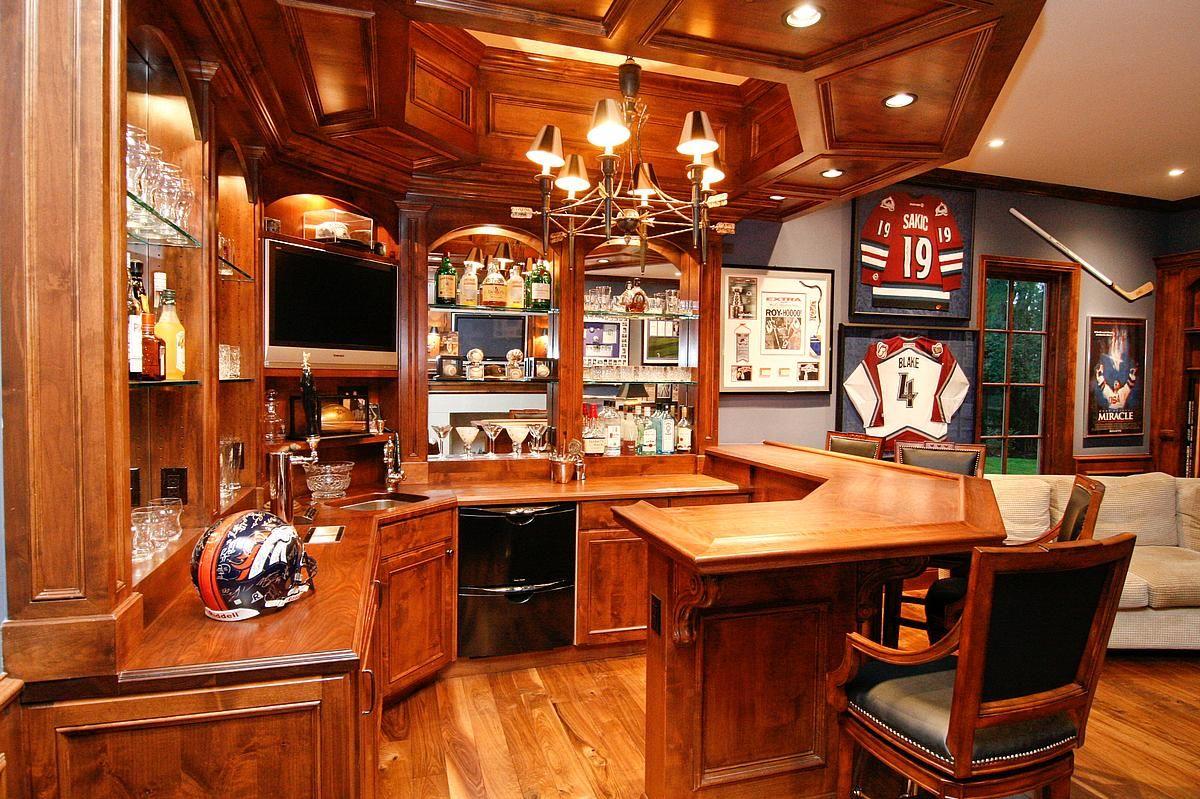 Lounge Area Sports Memorabilia Room