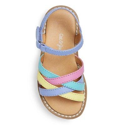 Toddler Girls' Genuine Kids Slide Sandals - 11, Toddler Girl's, Multicolored