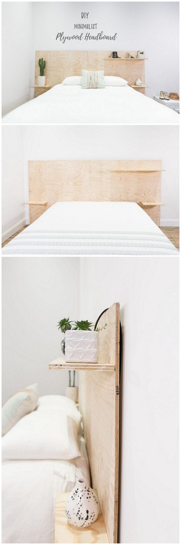 Check out this easy idea on how to make a diy minimalist plywood