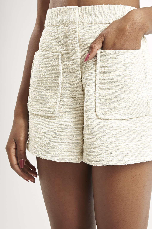 Photo 5 of Boucle High-Waisted Shorts