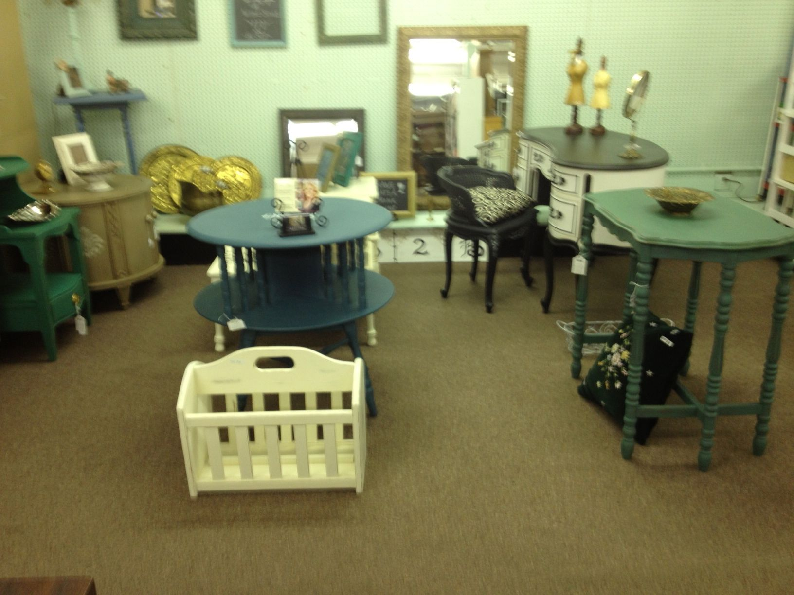 My Space At The Eclectic Elephant In Down Town Cheyenne · Furniture  ProjectsPainted FurnitureElephant
