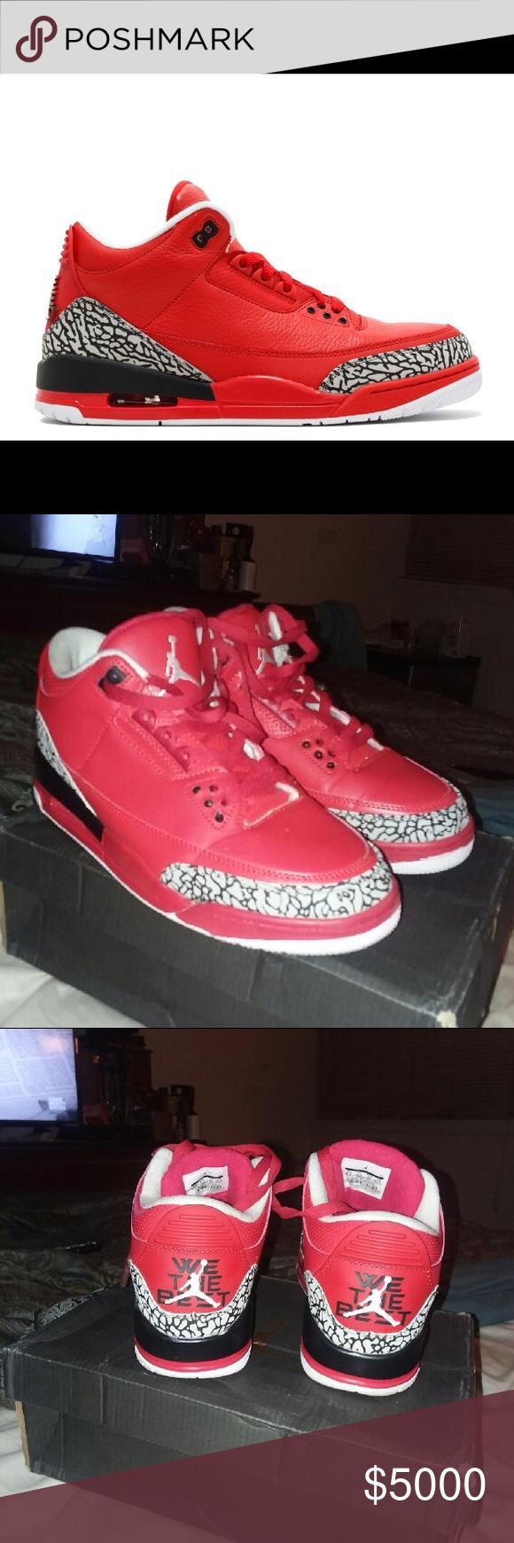 quality design 5208f dac83 Air Jordan Retro 3's DJ Khaled We the best... worn twice ...