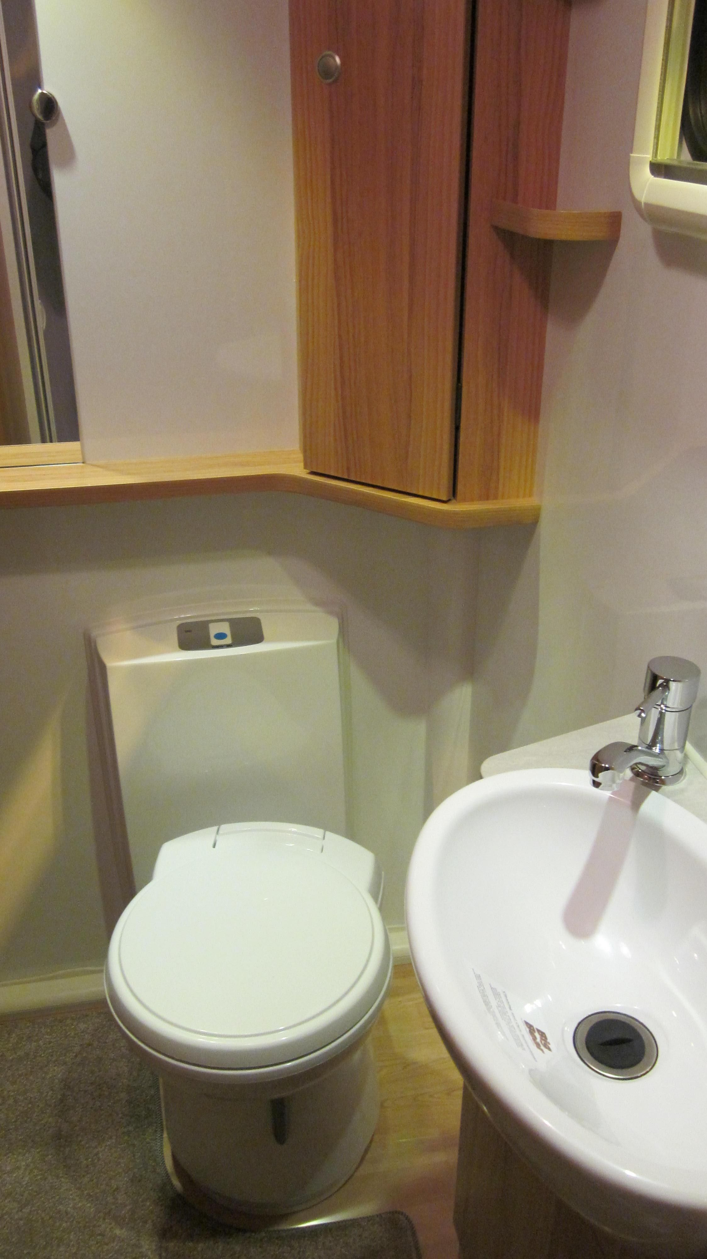 Bailey Pegasus GT65 Verona End Bathroom Good Size With Everything You Need