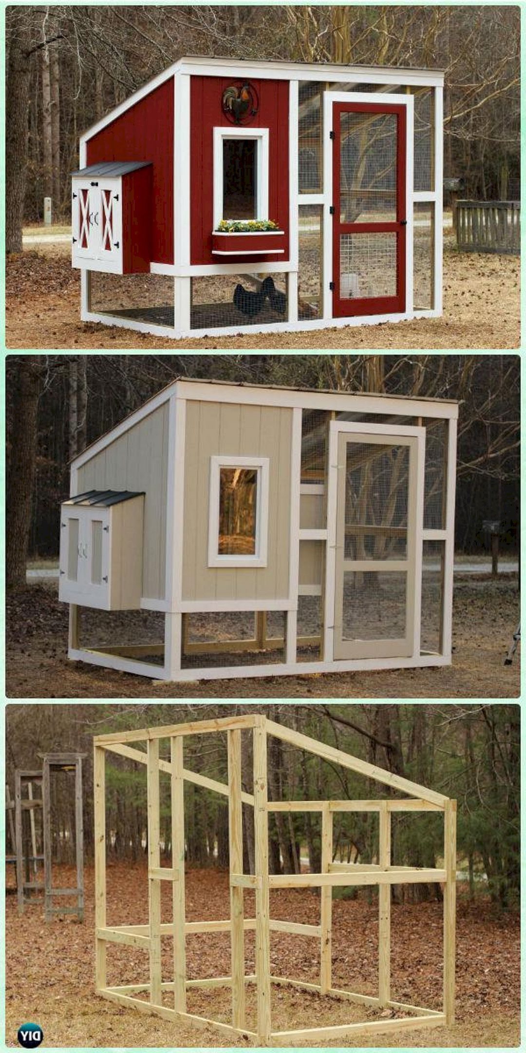 the best creative and easy diy chicken coops you need in your