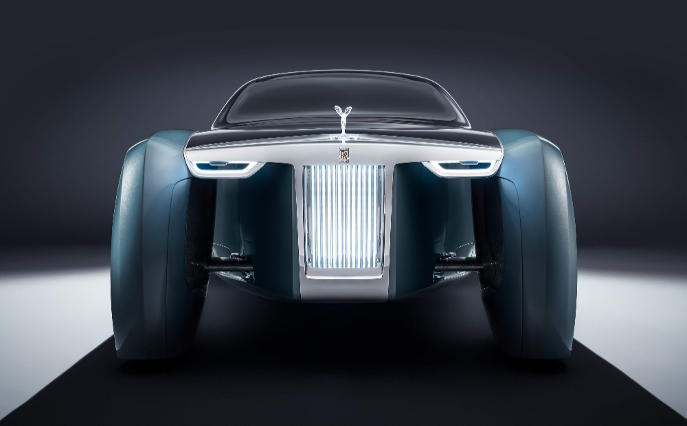 The future in the making: Rolls‑Royce 103EX: Vision Next 100