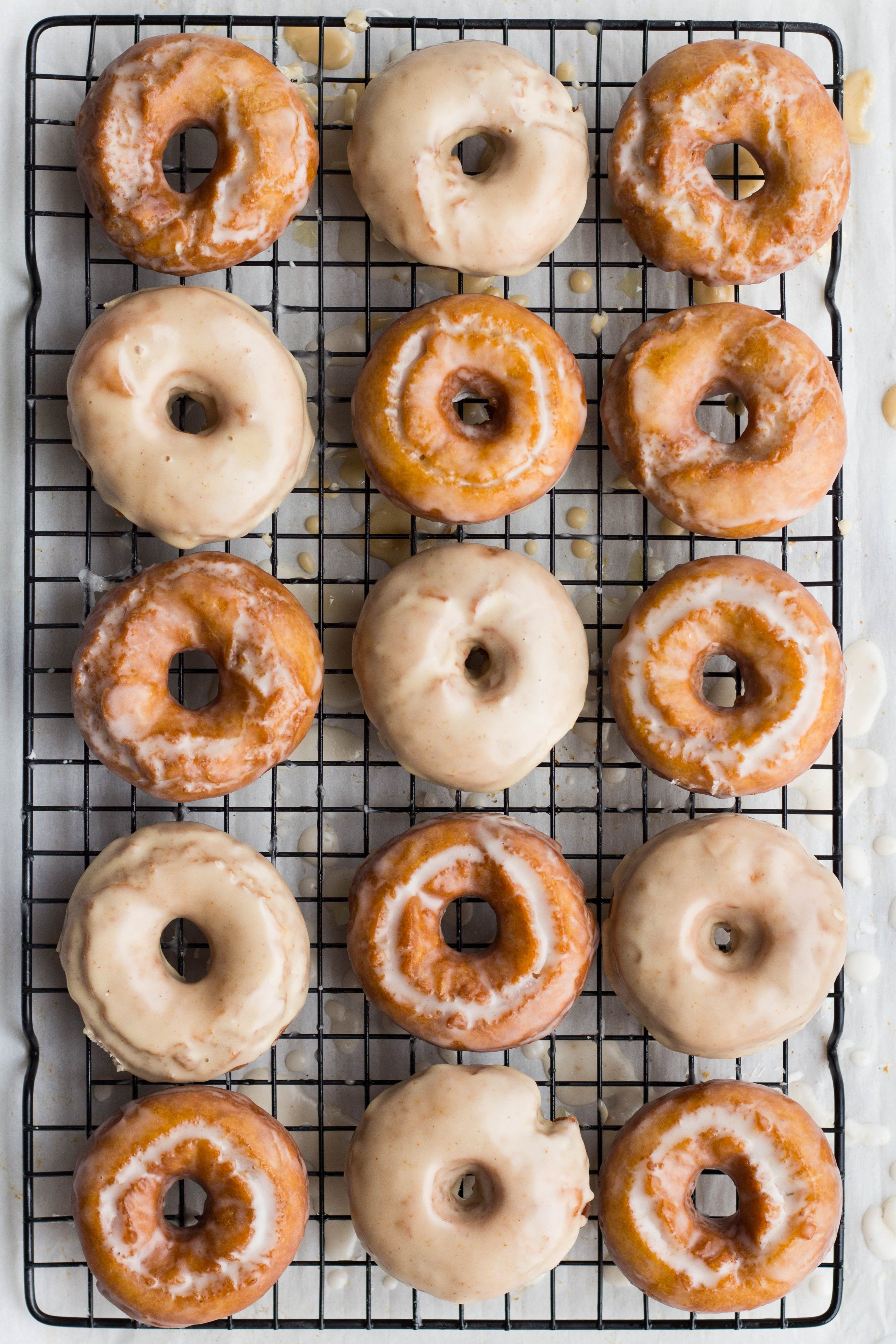 I Will Never Say No To A Doughnut I Just Love Them And You Would Be Hard Pressed To Find A Doughnut Flavour Pumpkin Spice Cake Sour Cream Donut Doughnut Cake