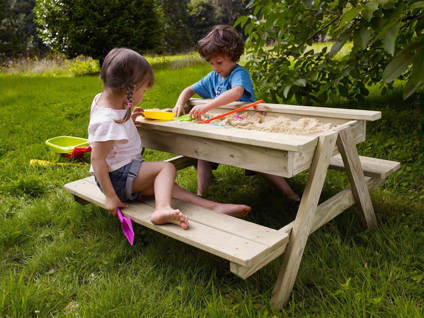 table bois bac sable soulet loisirs et jeux de plein air pinterest castorama bac et sable. Black Bedroom Furniture Sets. Home Design Ideas