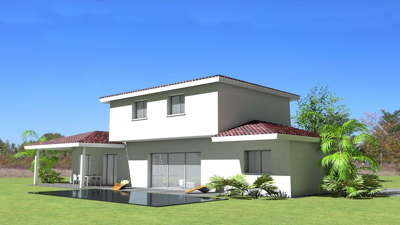 Terrasse Couverte Tuile Maison Modulable