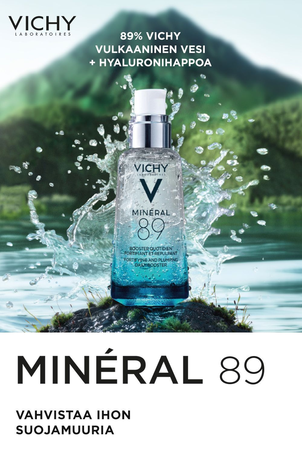 Minéral 89 seal in 2020 Vichy, Minerals, Body skin care