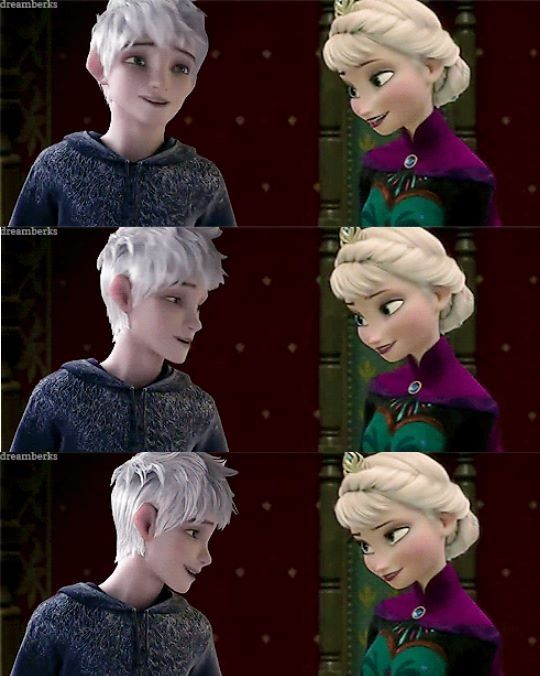 """BEST COMMENT: """"Hi."""" """"Hi. I'm Elsa."""" """"Frost, Jack Frost."""" """"Cute."""" """"Yes, you are."""" """"Smooooth."""" XD"""