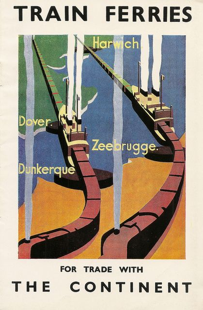 """Train Ferries for trade with the Continent"""" booklet"""