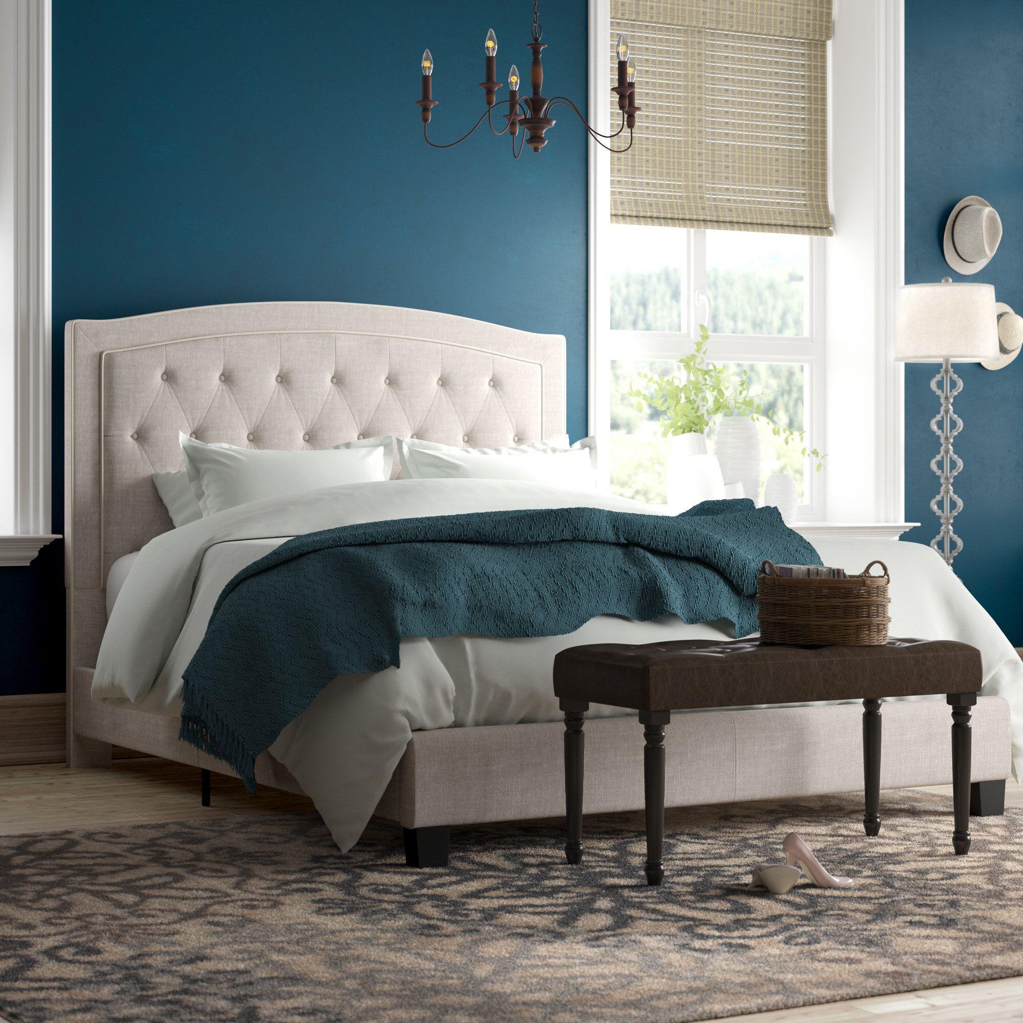 Rockaway Upholstered Panel Bed Upholstered panel bed