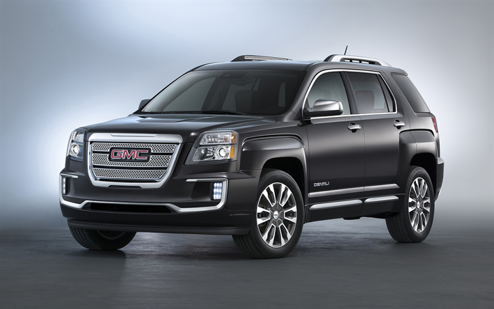 Download Wallpapers Gmc Denali 2018 Yukon Denali Luxury Suv 4k American Suv Black Denali 高級suv 黒 壁紙