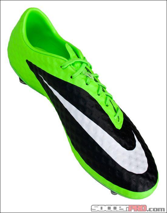 Nike Hypervenom Phantom FG Soccer Cleats - Flash Lime with White...I have these in orange nd black