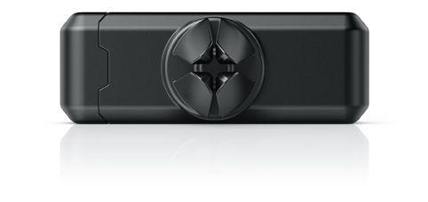 fixxo Universal KFZ-Handyhalter, Rückseite mit breiten Schlitzen zur Montage auf breiten Lüftungslamellen