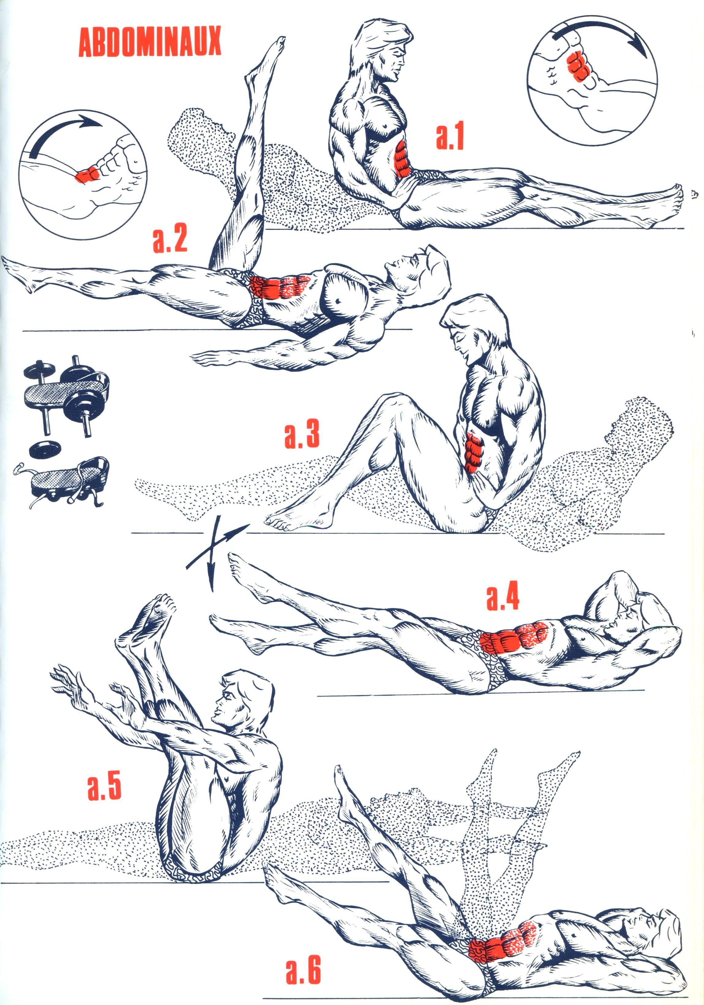musculation abdominaux femme