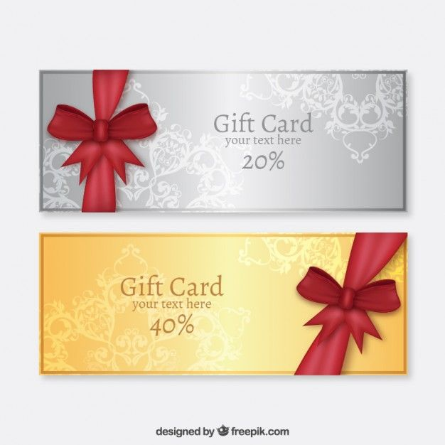 Pin by Olga Popova on bow банты Pinterest Silver gifts, Cards - new certificate vector free