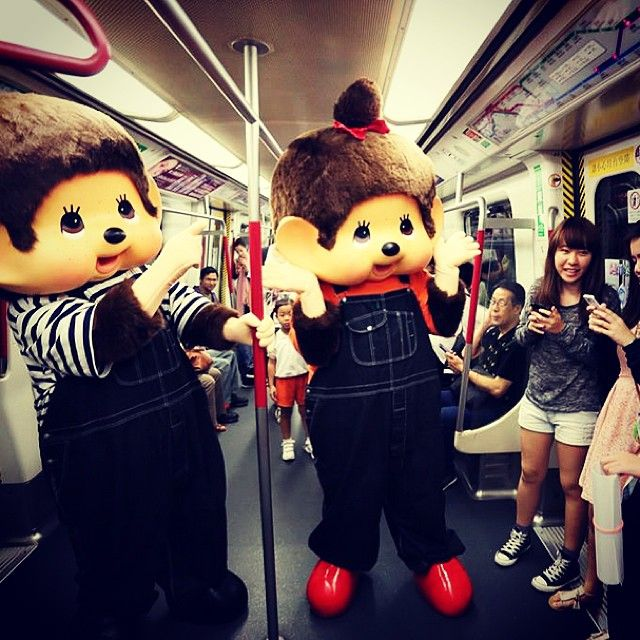 Did you meet them on MTR yesterday? Someone spotted them on Hang Hau MTR Station yesterday. #allabouthongkong