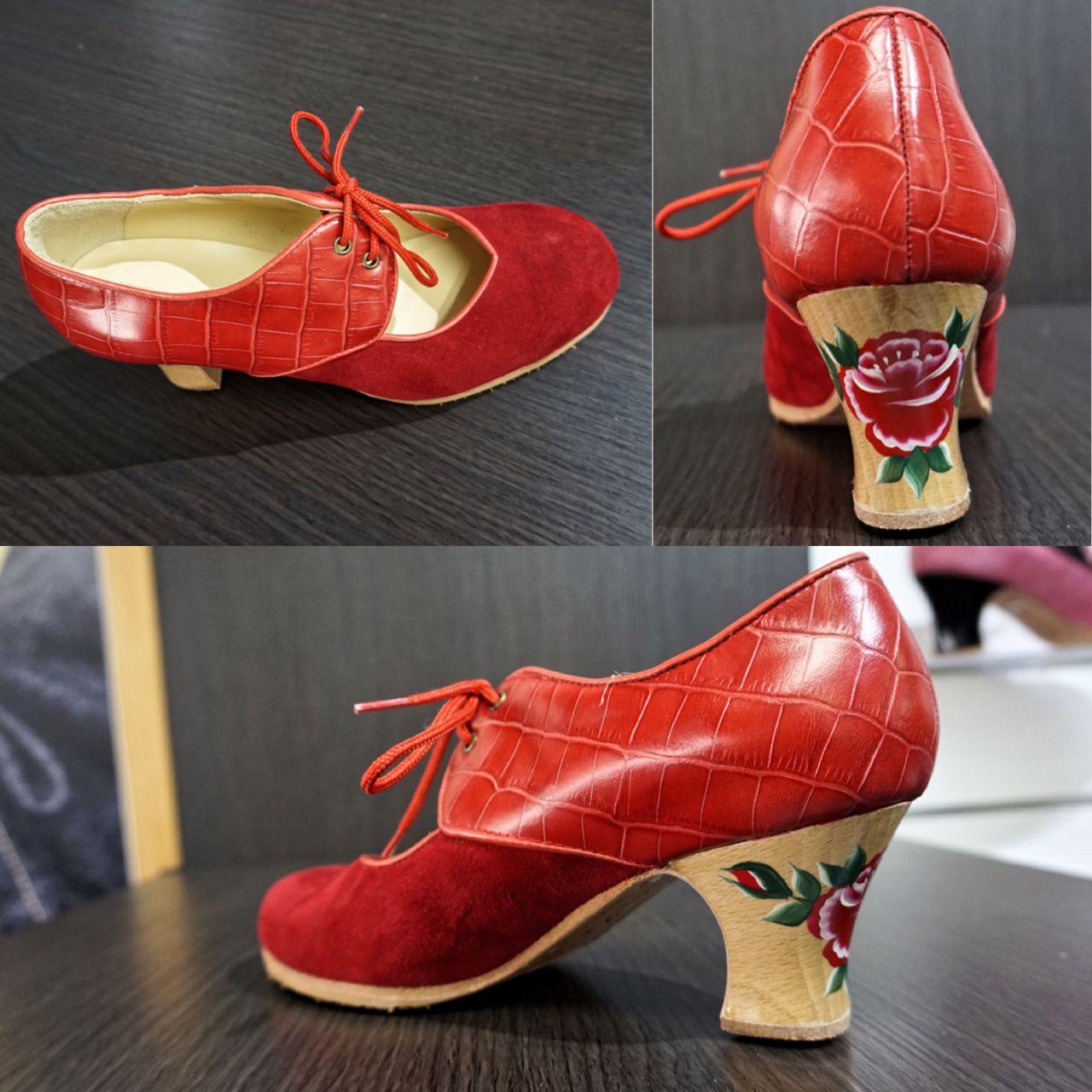 Pin En Zapatos De Flamenco Para Mujer