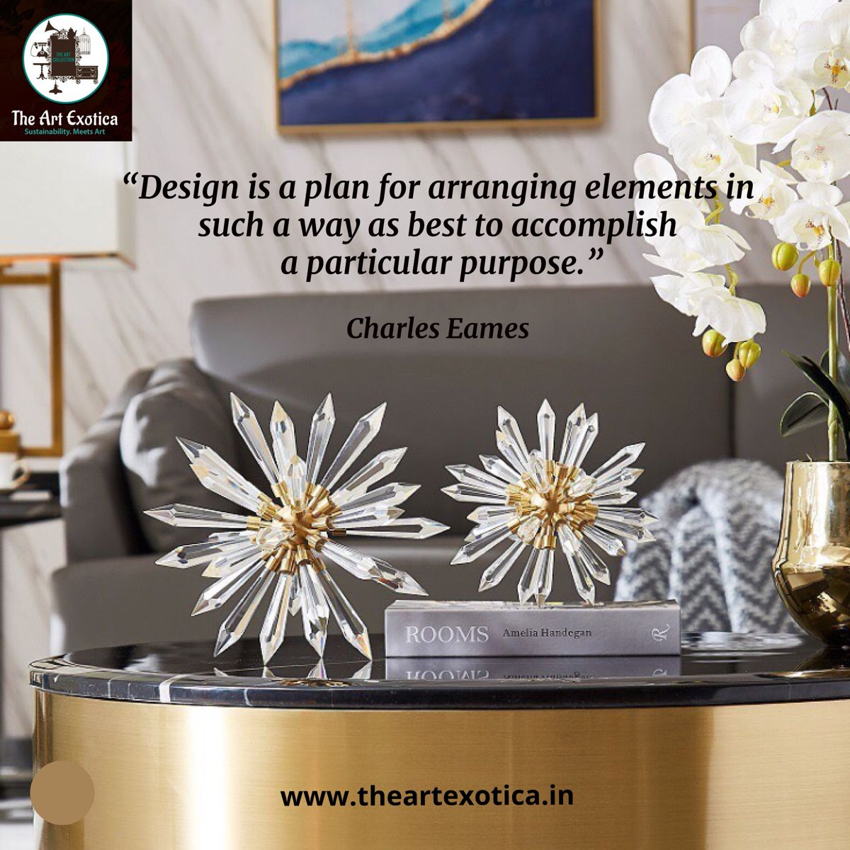 What is your definition of design? We agree with this one from Charles Eames. #HomeWithRue #HowIHaven #IDCOatHome #GreigeStyle #OneRoomChallenge #CurrentDesignSituation #ApartmentTherapy #HouseEnvy #MyDomaine #AmbularInteriorsAintGotNothingOnMe