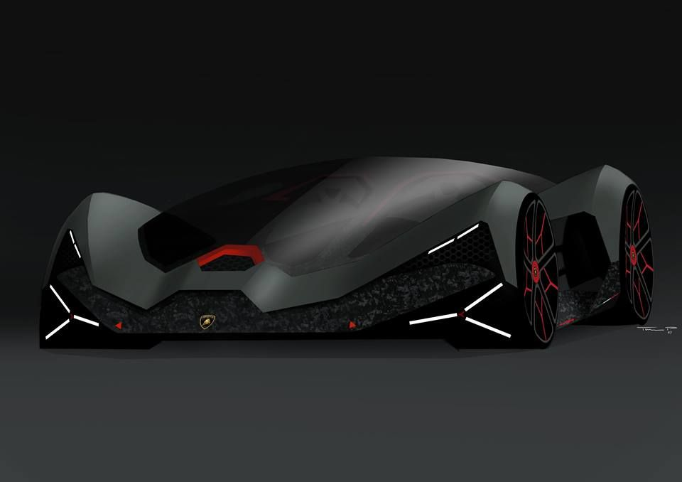 Can I Have Your Fathers Number Futuristic Cars Lamborghini Concept