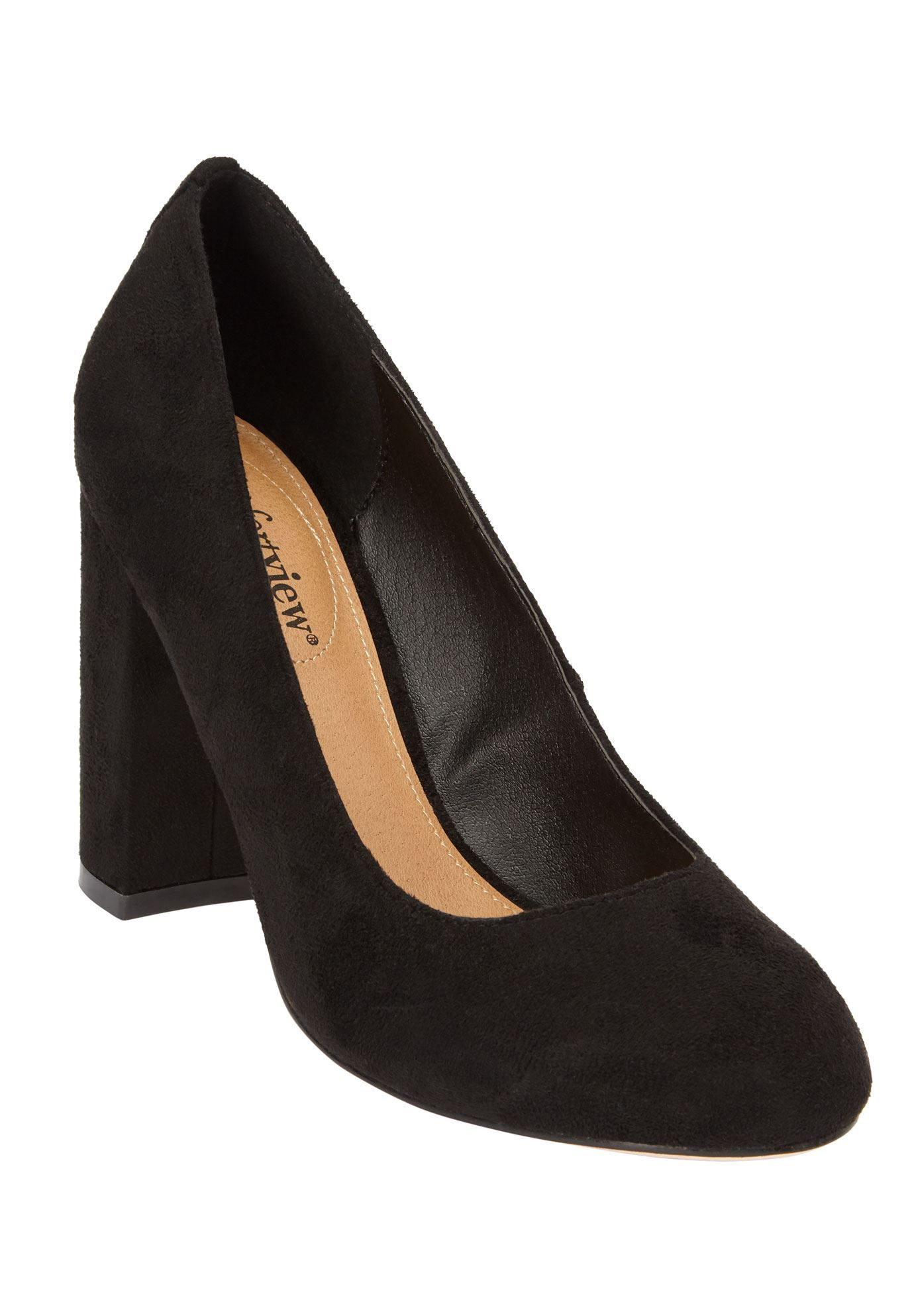 6bbbc31289f44 The Camile Pump by Comfortview - Women's Plus Size Clothing ...
