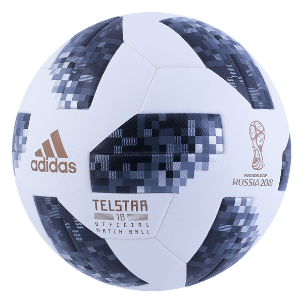 0a00998c5c9 Buy adidas Telstar 18 World Cup Official Match Soccer Ball from SOCCER.COM.  Best Price Guaranteed. Shop for all your soccer equipment and apparel needs.