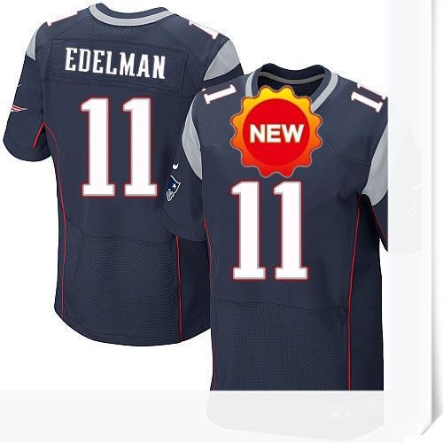 $66.00--Julian Edelman Jersey - Elite Navy Home Nike Stitched New England Patriots Jersey,Free Shipping! Buy it now:http://is.gd/SnWUdF