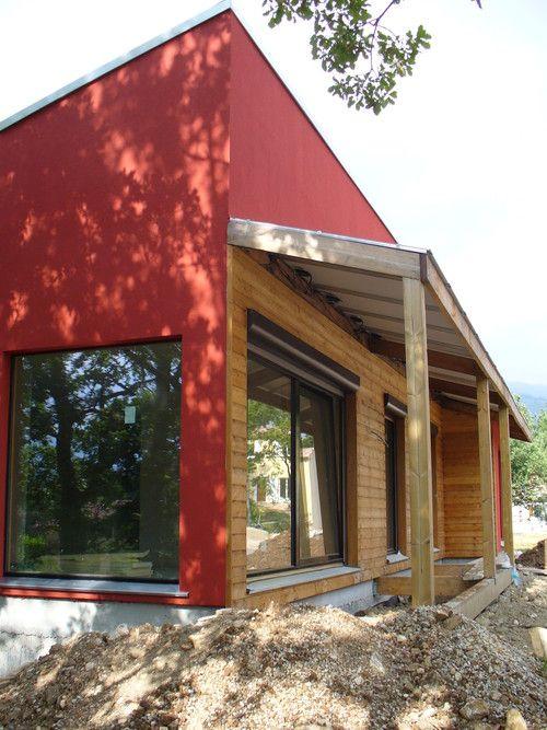 la maison positive Maison bois, Energie positive et Façade maison