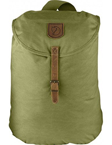 Fjallraven Greenland Small Backpack Meadow Green 15L ** Click image to review more details.
