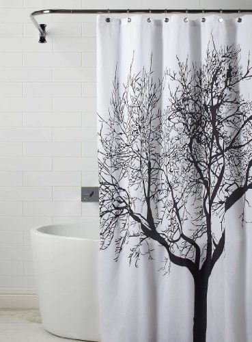 Xl Extra Long 180 X 200cm Black White Tree 100 Water Repellant