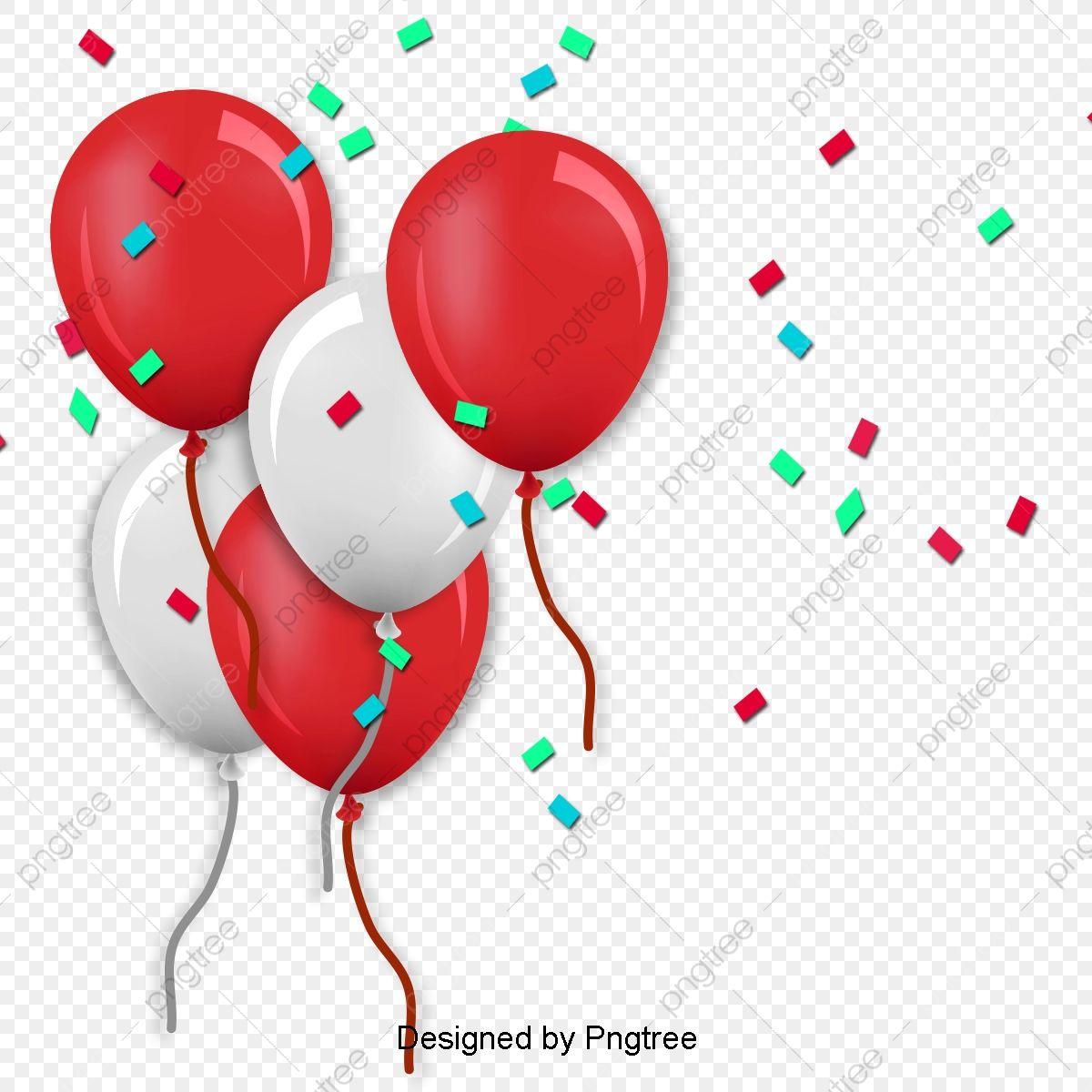 Globos De Cumpleanos Clipart De Globos De Cumpleanos Globo Globo Rojo Png Y Psd Para Descargar Gratis Pngtree Birthday Balloons Clipart Birthday Balloons Red Balloon
