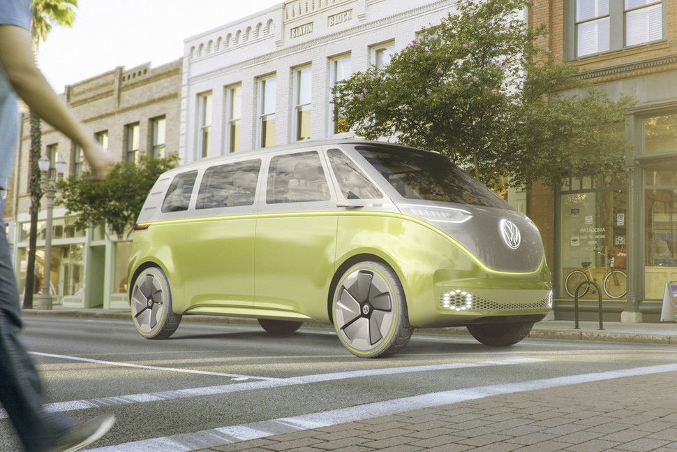 The New Hippy Bus From Vw E For 2021