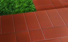 Pavimento esterno liscio cm rosso pei r gres rosso