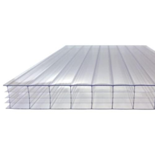 Best 25Mm Clear Multi Wall Polycarbonate Roofing Sheet Pvc 640 x 480