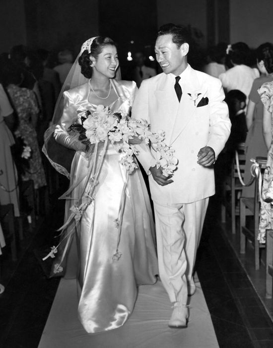 Wedding Vintage Herbert And Sue Isonaga Honolulu Hawaii March 26 1949