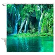 Elegant Rainforest Shower Curtain