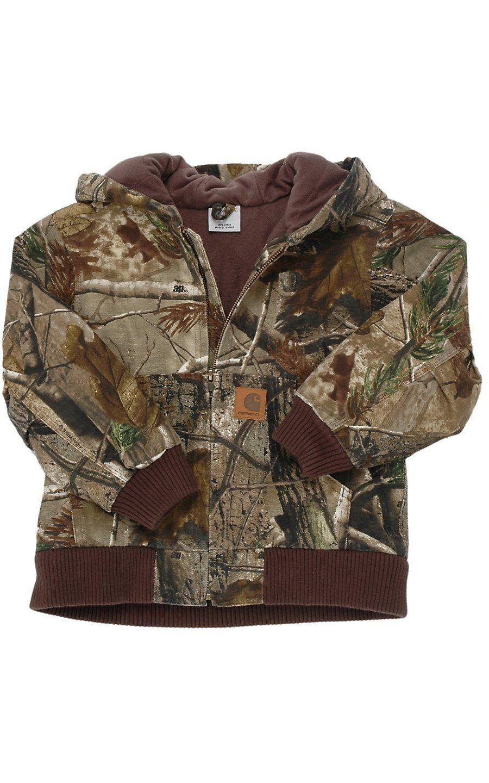 8d8be61ee Carhartt® Boys  Work Camo Active Jacket Sizes M-XL